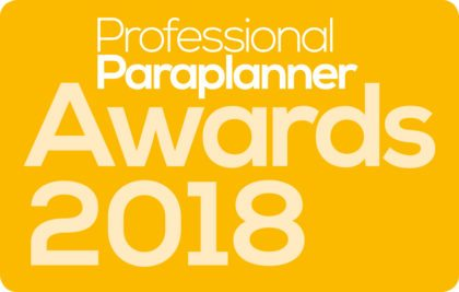 Professional Paraplanner Awards 2018