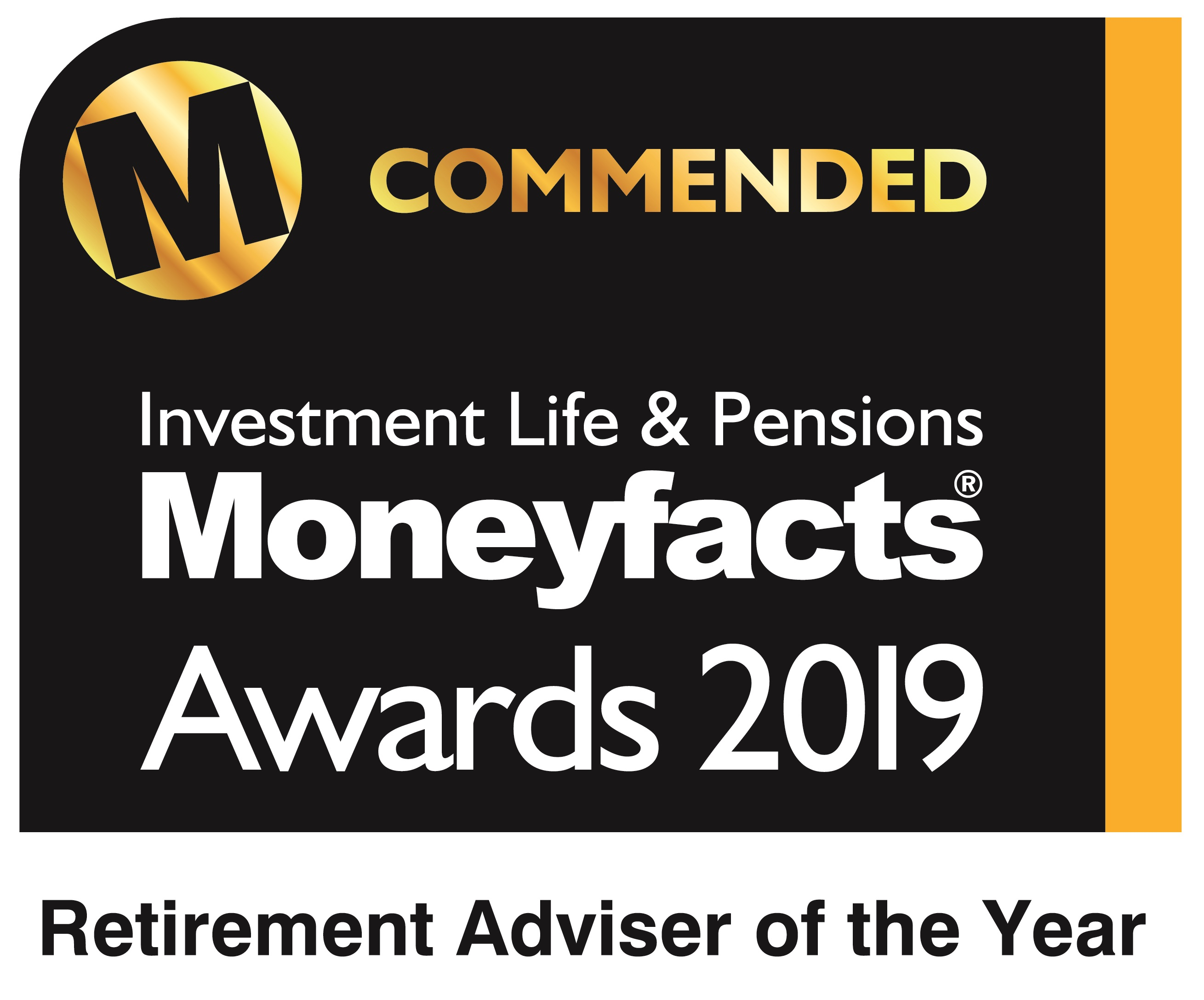 Investment Life & Pensions Moneyfacts Awards 2019