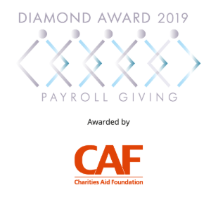 The Payroll Giving Diamond Award 2019